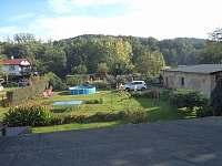 zahrada - apartmán k pronájmu Raspenava