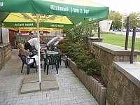 Letní terasa - ubytování Držkov