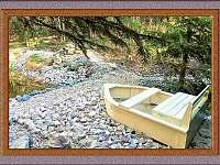 Posezení u rybníčku - pronájem chaty Nová Ves nad Nisou