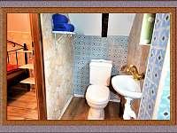 Toaleta - pronájem chaty Nová Ves nad Nisou
