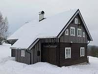 Bílá zimní pohádka - chalupa ubytování Kořenov - Polubný