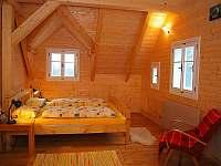 Tři ložnice v patře - pronájem chalupy Kořenov - Polubný