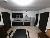 modrý apartmán - obývací pokoj - pronájem Josefův Důl