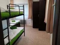 zelený apartmán - ložnice - Josefův Důl