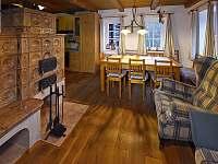 Světnice - chalupa ubytování Albrechtice v Jizerských horách