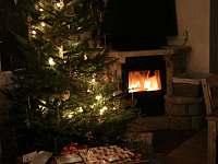 O vánocích je v ceně i vánoční strom - chata k pronájmu Smržovka