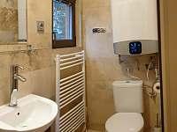 Koupelna - pronájem chaty Smržovka