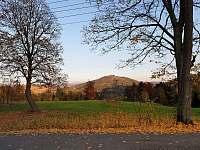 Výhled od chaty na Tanvaldský Špičák - Smržovka