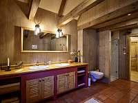 koupelna 2NP - chalupa k pronájmu Horní Polubný