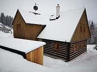 zima je tu - chalupa ubytování Horní Polubný