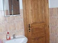 koupelna - chalupa ubytování Jílové u Držkova