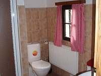 koupelna - chalupa k pronájmu Jílové u Držkova