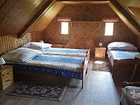 ložnice - chalupa k pronájmu Jílové u Držkova