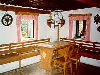 světnice - chalupa ubytování Jílové u Držkova