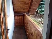 balkon z ložnice II - Raspenava - Peklo