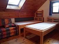 ložnice III - chata k pronajmutí Raspenava - Peklo