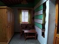 Odpočívací kout v ložnici I, úložné prostory - Raspenava - Peklo