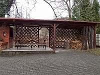pergola (na podzim) - chata ubytování Raspenava - Peklo