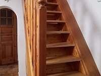 schodiště (pozor, příkré!) - chata k pronájmu Raspenava - Peklo