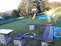 zahrada - chata k pronájmu Smržovka