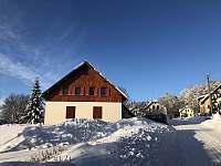Chalupa v zimě - apartmán ubytování Zásada - Zbytky