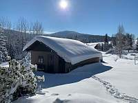 Zima - pronájem chalupy Kořenov