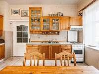 Kuchyně - vila ubytování Janov nad Nisou - Hraničná