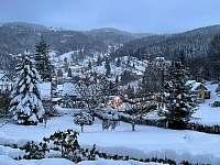 Výhled z vily - vila k pronájmu Janov nad Nisou - Hraničná