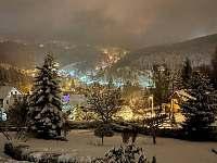 Výhled z vily - vila ubytování Janov nad Nisou - Hraničná
