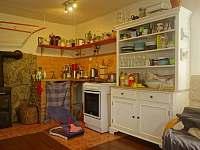 kuchyňský kout - pronájem chalupy Kryštofovo Údolí