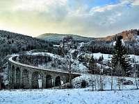 viadukt v Novině - Kryštofovo Údolí