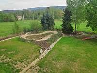 zahrada - vila k pronajmutí Nové Město pod Smrkem