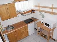Kuchyň - chata k pronajmutí Kořenov