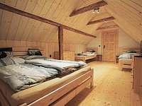 Čtyřlůžkový pokoj v podkroví - chata k pronajmutí Lázně Libverda