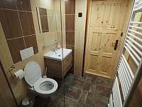 Koupelna - pronájem chaty Lázně Libverda