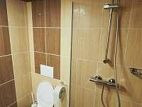 Zadní koupelna - pronájem chaty Lázně Libverda