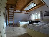 Jižní pokoj s mezonetovým spaním - Albrechtice v J. h. - Mariánská Hora