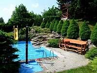 Bazén - ubytování Albrechtice v Jizerských horách