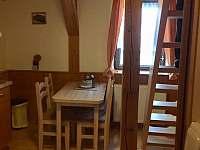 Jídelní kout v mezonetu - ubytování Albrechtice v Jizerských horách