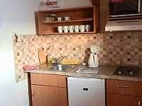 kuchyňský kout v APT - Albrechtice v Jizerských horách