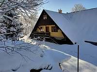 Malý apartmán - vstup z verandy - Kořenov - Horní Polubný