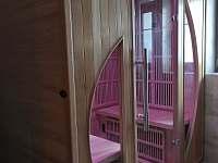 Velký apartmán - koupelna s WC a infrasaunou - pronájem chalupy Kořenov - Horní Polubný