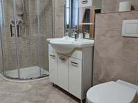 Velký apartmán - koupelna s WC a infrasaunou - chalupa k pronajmutí Kořenov - Horní Polubný