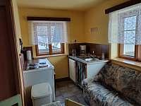 Velký apartmán - kuchyň - chalupa k pronajmutí Kořenov - Horní Polubný