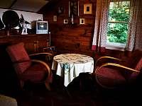 CHata dame mature obývací pokoj - Světlá pod Ještědem - Dolení Paseky