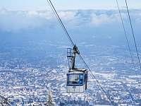 lanovka Ještěd - Liberec