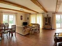 Apartmán č.1-Obývací místnost - chalupa k pronájmu Lázně Libverda