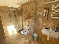 koupelna pokoje č. 4 - Josefův Důl