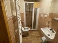 koupelna pokojů 1, 2, 3 a apartmánu - Josefův Důl