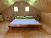 Ložnice s manželskou postelí - Paseky nad Jizerou